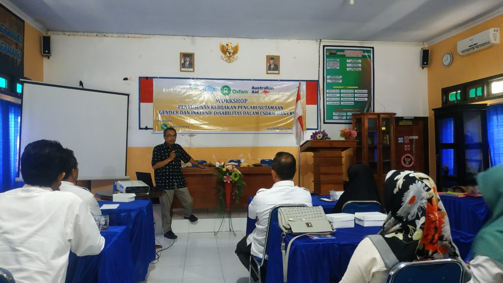 SAPDA-LP2DER Selenggarakan Workshop Penyusunan Kebijakan Berperspektif Gender Disabilitas
