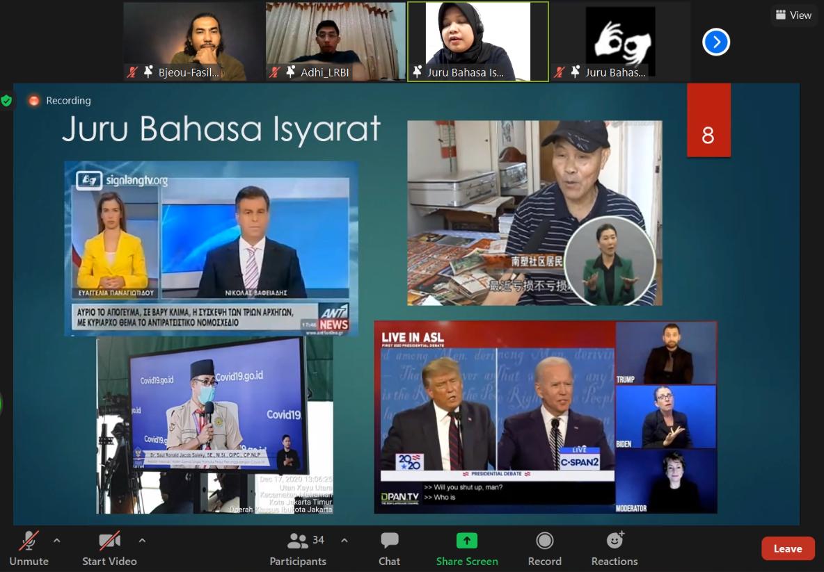 Workshop media aksesibel